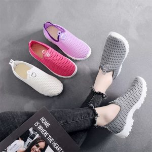 Breathable Pull-On Sneaker