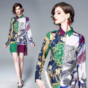 Fashion Print Dress, Shirt