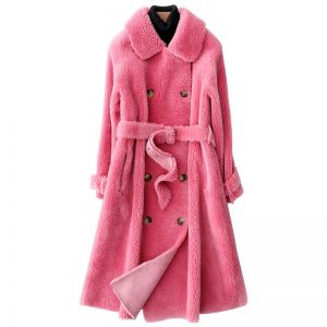 Women Winter Faux Fur Teddy Coat